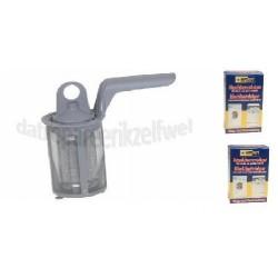 filter vaatwasser AEG + reinigingsmiddel