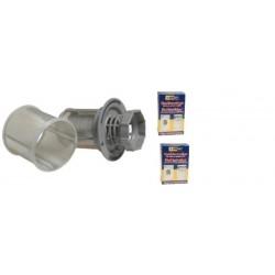 Filter fijnfilter Bosch/Siemens vaatwasser 427903 + reinigingsmiddel